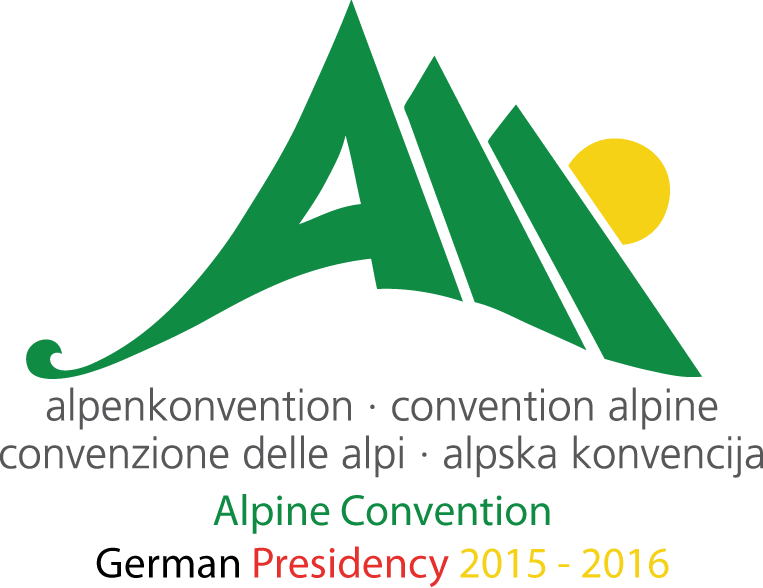 Alpine convention logo German presidency