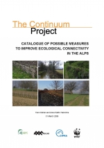 Catalogue of possible measures to improve ecological connectivity
