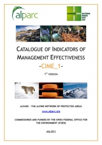 Catalogue of Indicators of Management Effectiveness