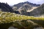Im «Parc Adula»: Laghetto dei Corti im Val Malvaglia, im Hintergrund der Adula (Rheinwaldhorn)