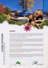 ALPARC: the Alpine Network of Protected Areas - leaflet/map
