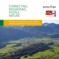 Connecting Mountains, people, nature - shaping the framework for an efficient european biodiversity policy for the alps